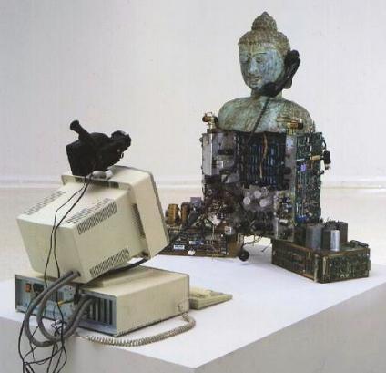 Video Esculturas de Nam June Paik